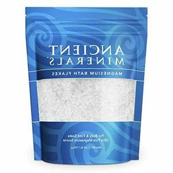 Ancient Minerals Magnesium Bath Flakes Ultra with OptiMSM 1.
