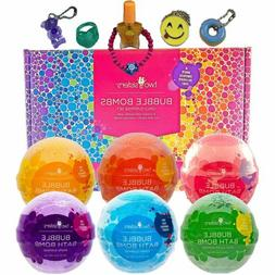 Bubble Bath Bombs for Girls with Surprise Toys and Kids Jewe