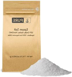 Epsom Salt  by Pure Organic Ingredients, Magnesium Sulfate S