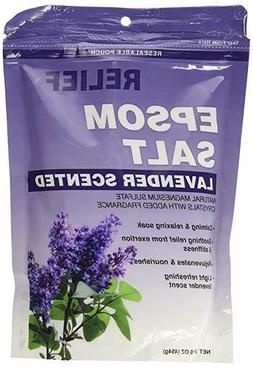 Relief Epsom Salt Lavender Scented Calming And Relaxing soak