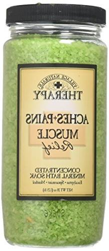 Village Naturals Therapy Aches and Pains Concentrated Bath S
